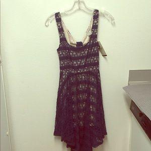 NWT American Rag navy lace dress